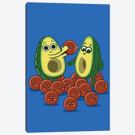 Avocado Family Canvas Print #APZ358} by Alberto Perez Canvas Print