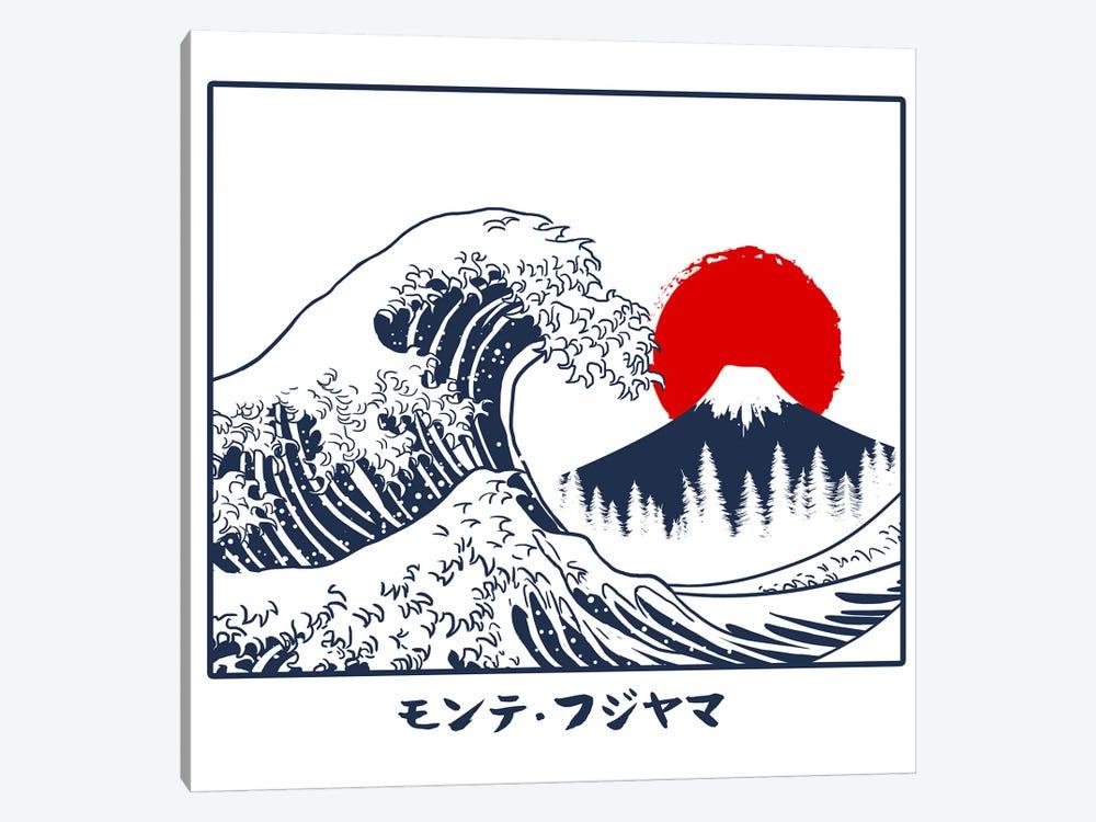 Fujiyama Wave by Alberto Perez 1-piece Art Print