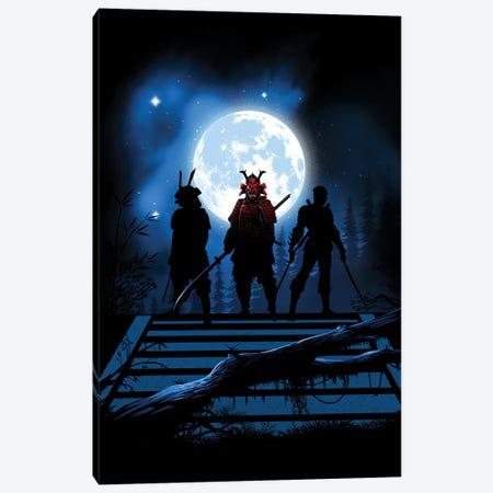 Ninja And Samurais Canvas Print #APZ372} by Alberto Perez Art Print