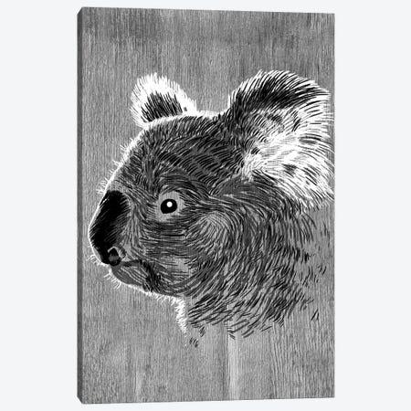 Koala Sketch Canvas Print #APZ375} by Alberto Perez Canvas Wall Art