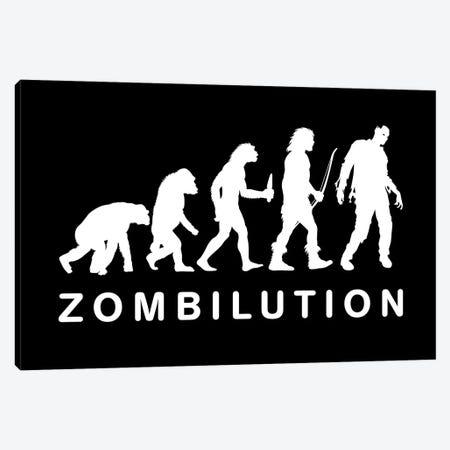 Zombilutions Canvas Print #APZ379} by Alberto Perez Canvas Art Print