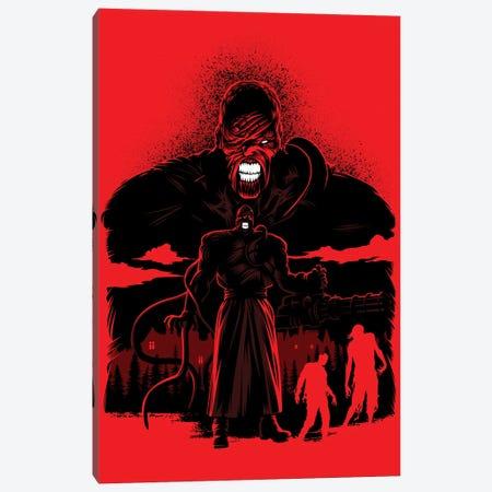Zombie Nemesis Canvas Print #APZ382} by Alberto Perez Canvas Art