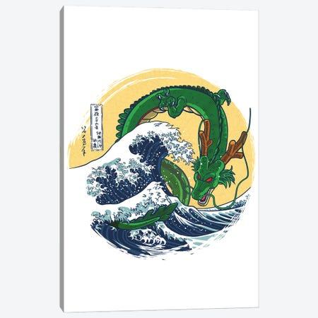 Dragon Wave Canvas Print #APZ395} by Alberto Perez Canvas Art