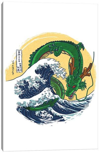 Dragon Wave Canvas Art Print