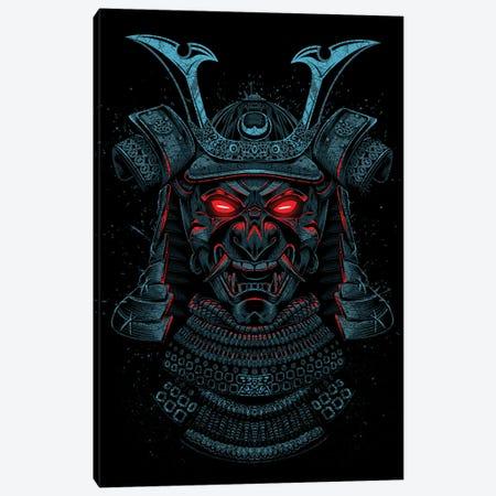 Samurai Red Eyes Canvas Print #APZ408} by Alberto Perez Canvas Art Print