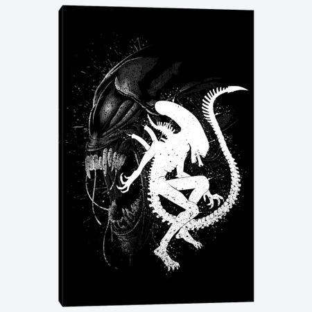 Alien Monster Canvas Print #APZ416} by Alberto Perez Canvas Art Print