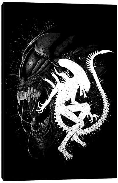 Alien Monster Canvas Art Print
