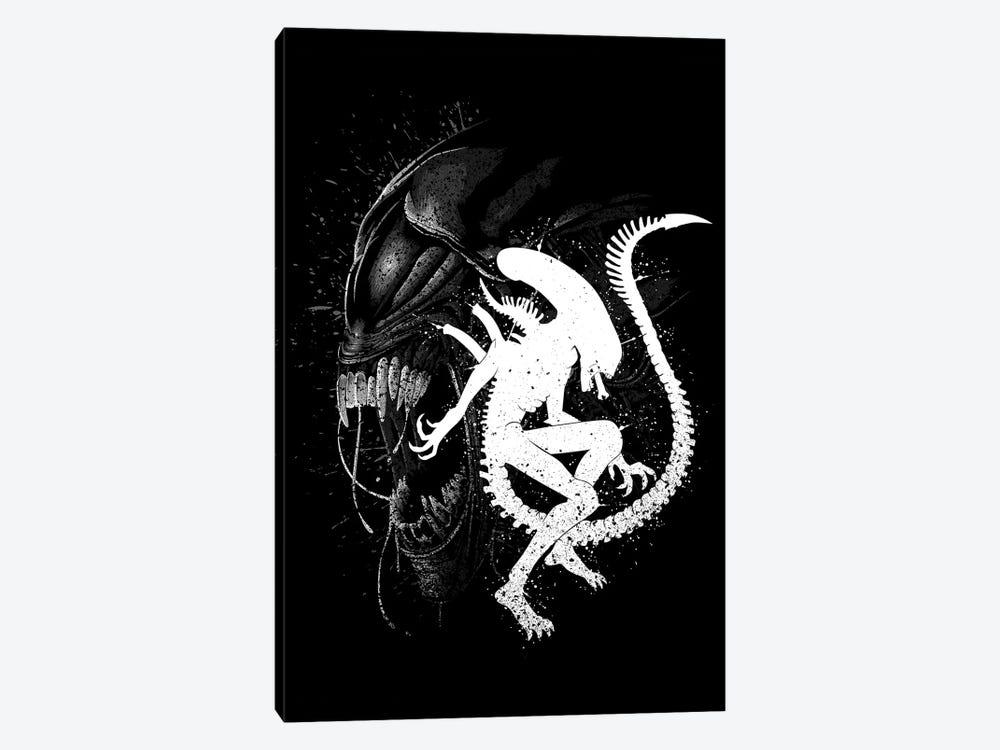 Alien Monster by Alberto Perez 1-piece Canvas Print