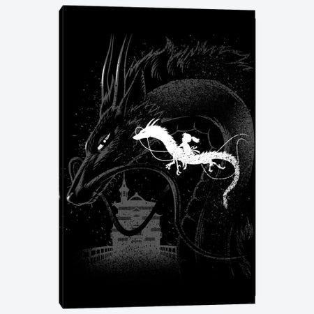 Dragon Ride Canvas Print #APZ417} by Alberto Perez Canvas Print