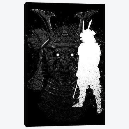Inking Samurai Canvas Print #APZ437} by Alberto Perez Canvas Print