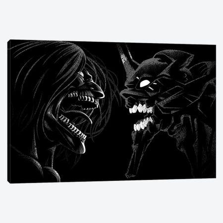 Duel Of Titans Canvas Print #APZ453} by Alberto Perez Canvas Artwork