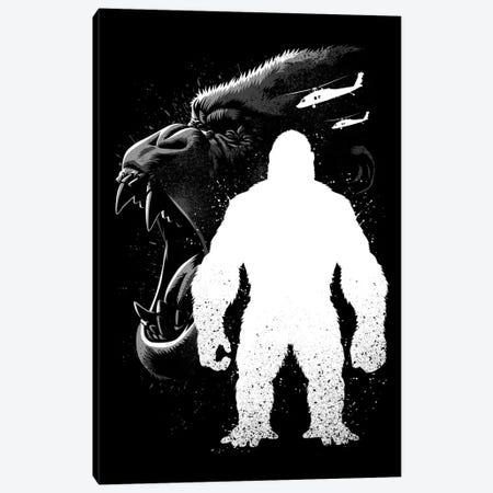 Kong Inking Canvas Print #APZ478} by Alberto Perez Canvas Wall Art