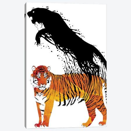 Ink Tiger Canvas Print #APZ47} by Alberto Perez Canvas Print