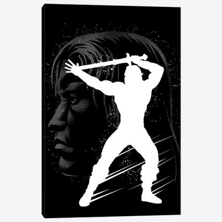 Inking Barbarian Canvas Print #APZ486} by Alberto Perez Canvas Art