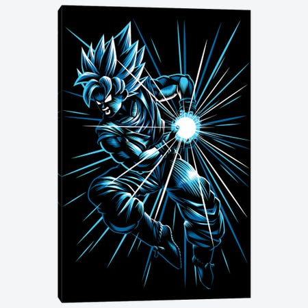 Super Kame Canvas Print #APZ496} by Alberto Perez Canvas Art Print