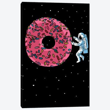 Galactic Donut Canvas Print #APZ4} by Alberto Perez Canvas Artwork