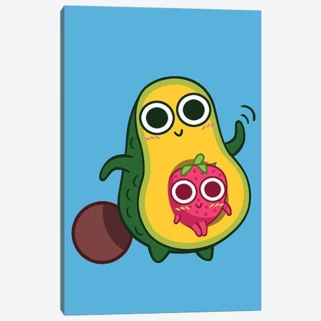 Avocado And Strawberry Canvas Print #APZ525} by Alberto Perez Canvas Print
