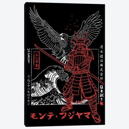 Samurai Eagle Attack Canvas Print #APZ541} by Alberto Perez Canvas Art