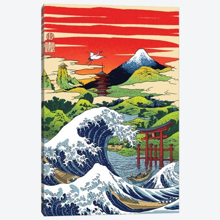 I Remember In Japan Canvas Print #APZ544} by Alberto Perez Canvas Art Print
