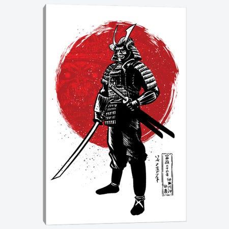 Samurai With Two Katanas Canvas Print #APZ547} by Alberto Perez Canvas Art Print