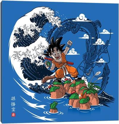 Wave Dragon Canvas Art Print