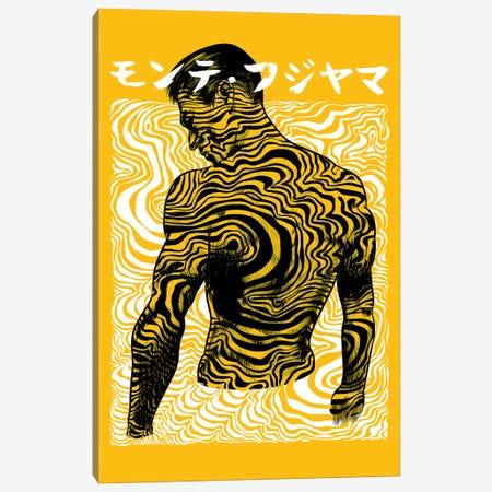 The Honor Of The Yakuza Canvas Print #APZ572} by Alberto Perez Art Print