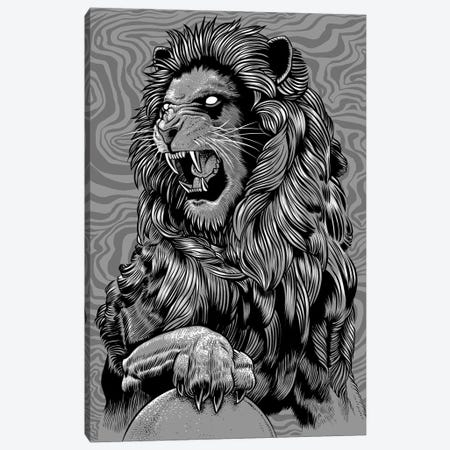 The Claws Of The Lion Canvas Print #APZ576} by Alberto Perez Canvas Wall Art