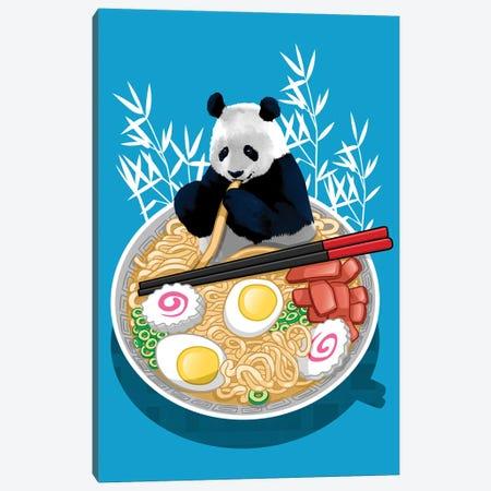 Ramen panda Canvas Print #APZ87} by Alberto Perez Canvas Print