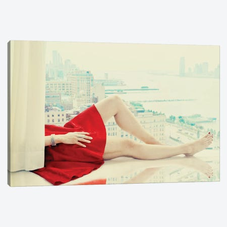 Lazy Afternoon Canvas Print #ARA5} by Ambra Canvas Artwork