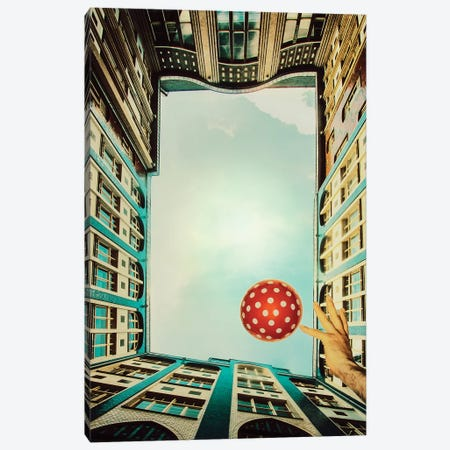 Play It! Canvas Print #ARA6} by Ambra Canvas Wall Art