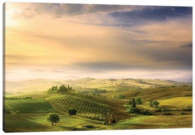 Podere Belvedere's Sunrise Canvas Art Print