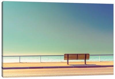 The Bench Canvas Art Print