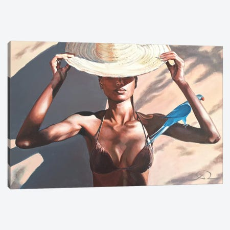 From Out Of The Blue Canvas Print #ARE13} by Antoine Renault Canvas Print