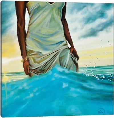 A Woman's Way Canvas Art Print