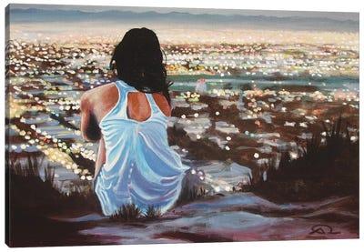 L'attente Canvas Art Print