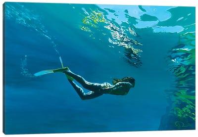 Mouros Blue Canvas Art Print