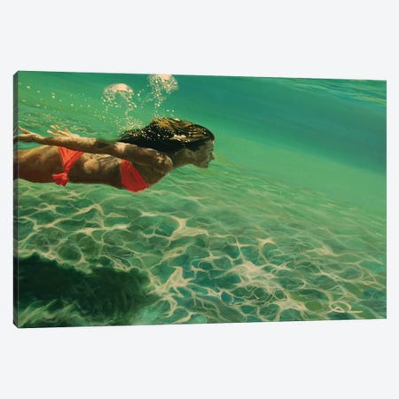 Oxygen Canvas Print #ARE27} by Antoine Renault Art Print