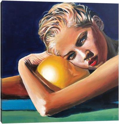Poolside II Canvas Art Print