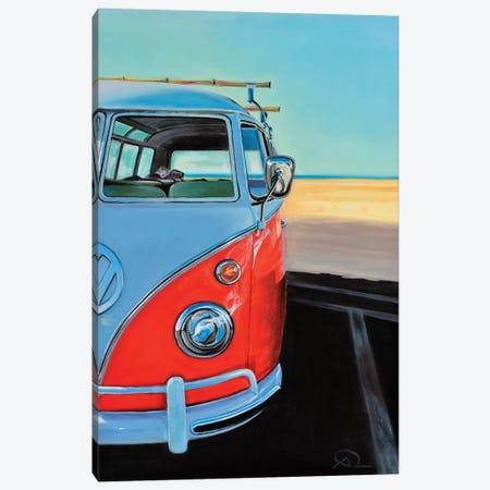 Reach The Beach Canvas Print #ARE34} by Antoine Renault Canvas Wall Art