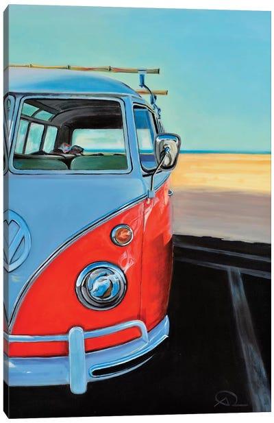 Reach The Beach Canvas Art Print
