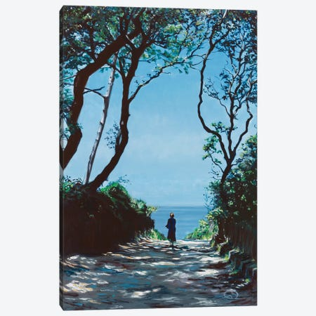 Allée Du Cob Canvas Print #ARE4} by Antoine Renault Canvas Artwork