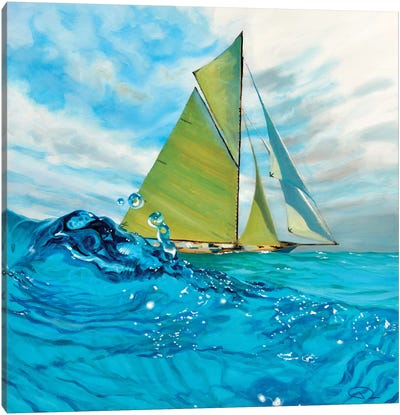 Mermaids Perspective Canvas Art Print