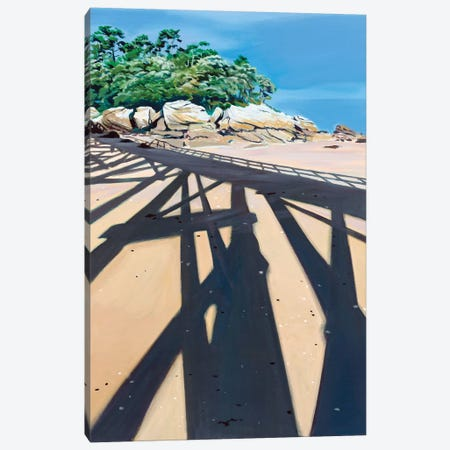 In The Shadow High Dive Canvas Print #ARE53} by Antoine Renault Canvas Print