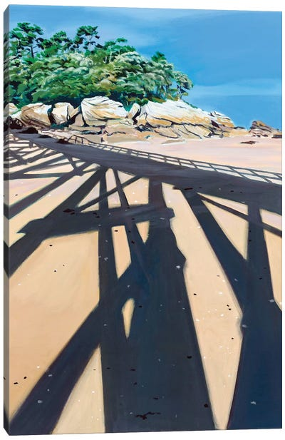 In The Shadow High Dive Canvas Art Print
