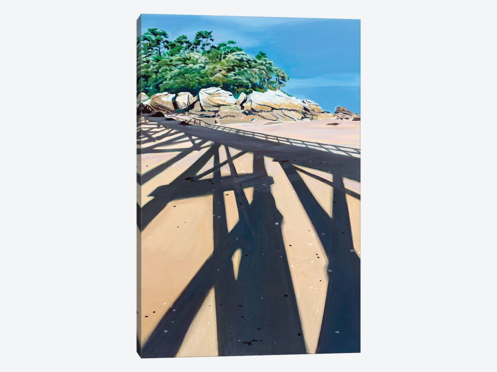 In The Shadow High Dive by Antoine Renault 1-piece Canvas Wall Art