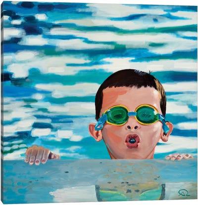De L'Air Canvas Art Print