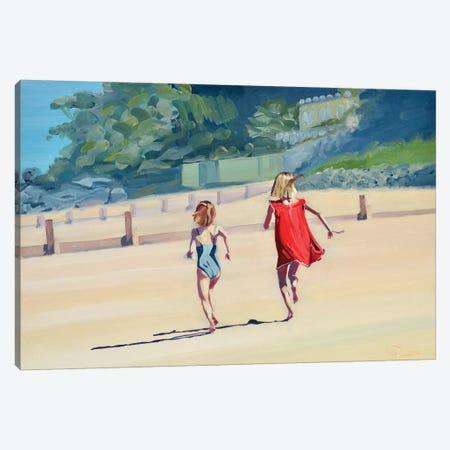 Duel De Sauterelles Canvas Print #ARE59} by Antoine Renault Canvas Art Print