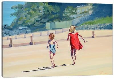 Duel De Sauterelles Canvas Art Print