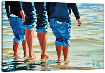 Ricochet Canvas Art Print