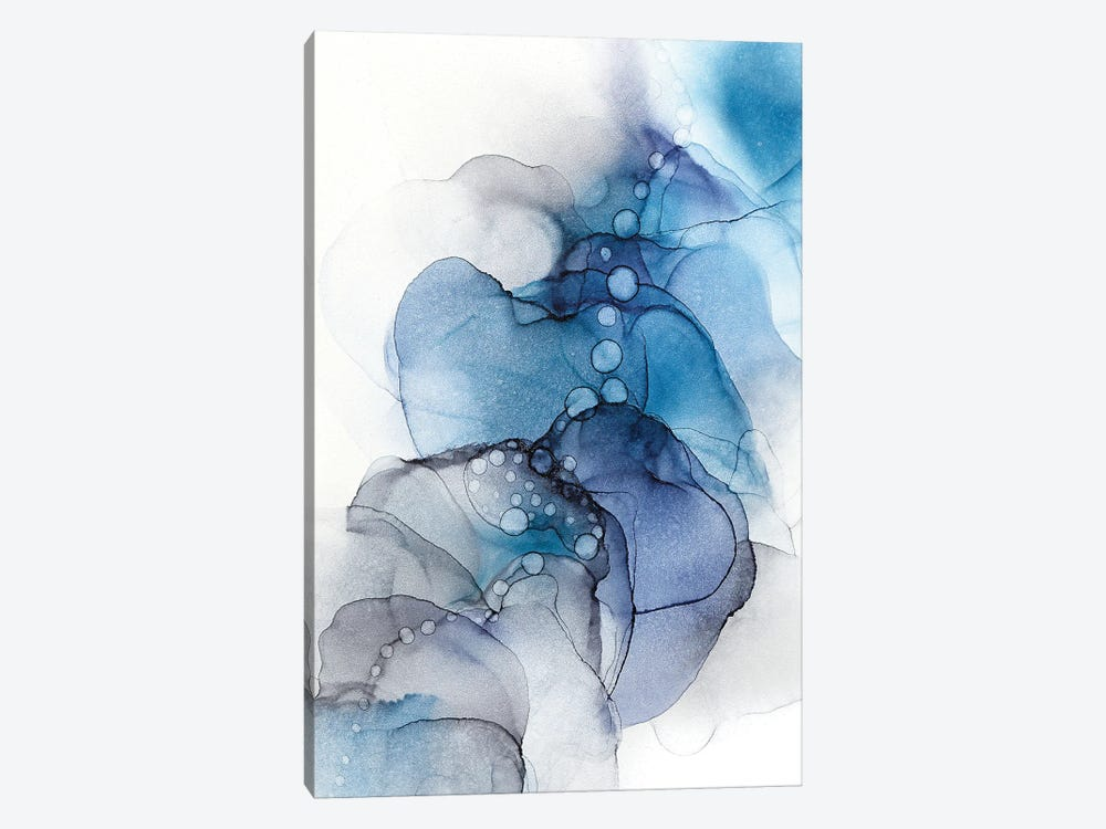 Blue Flow 1-piece Art Print